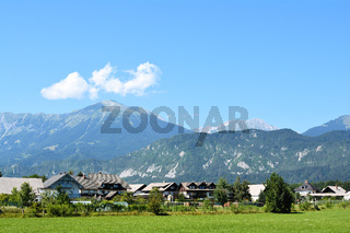 Alpenlandschaft in Slowenien