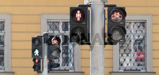 chaotic traffic lights