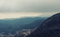 Mountain ranges in Alicante. Costa Blanca, Valencia. Spain