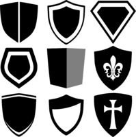 modern shield collection