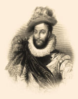 Sir Walter Raleigh, 1554 - 1618, an English aristocrat, writer, poet and explorer