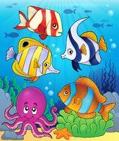 Coral fauna theme image 5 - picture illustration.