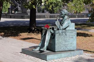Denkmal für Jan Karski in Warschau