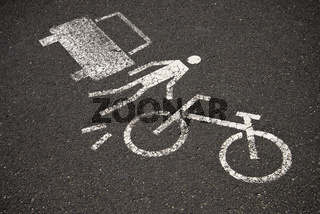 Piktogramm Warnung vor Zusammenstoß