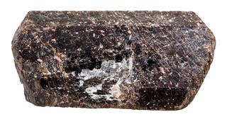 crystalline brown Tourmaline Dravite mineral stone