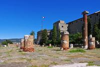 Triest Burg und Forum - Trieste castle and roman forum