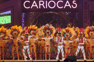 Gala election of the Carnival Queen, Santa Cruz deTenerife.