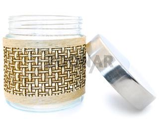 Closed Glass Jar