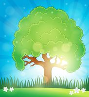Spring topic background 5 - picture illustration.