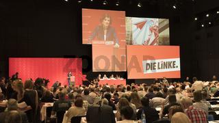 Bundesparteitag (Plenum) der Linkspartei