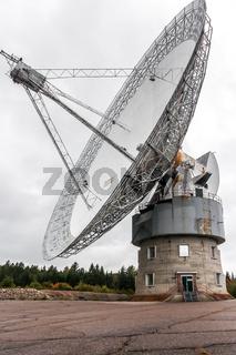 Old radiotelescope