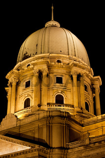 Royal Palace Dome in Budapest