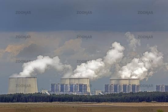 Power plant Jänschwalde, Brandenburg, Germany, Eur