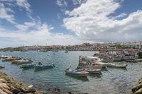 The fishing port of Lagos