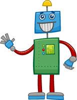 robot fantasy character