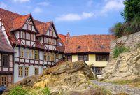 Quedlinburg Altstadt - Qedlinburg old town 01