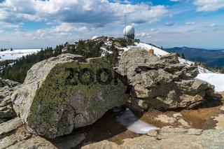 Gipfelplateau des Grossen Arber