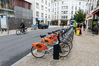 Bicloo station in Nantes