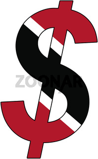 dollar - flag of trinidad and tobago