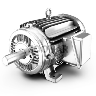3d big electric motor