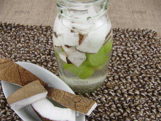 Coconut-rhubarb-detox-drink