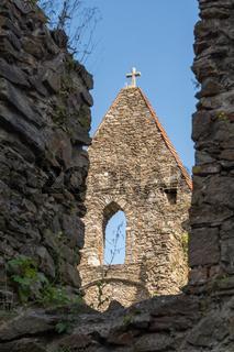 Detail der Burg Schaunberg - Austria