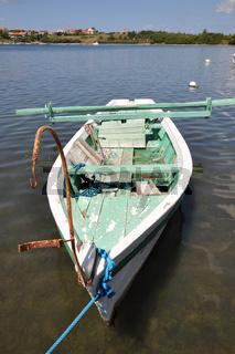 Boot bei Nin, Kroatien