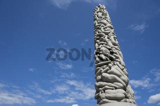 Monolith im Vigelandpark in Oslo