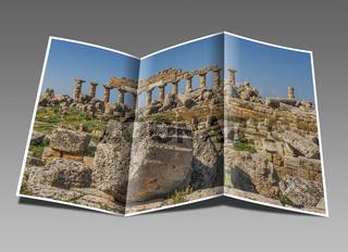 Akropolis, Selinunt, Sizilien   Acropolis, Selinunte, Sicily