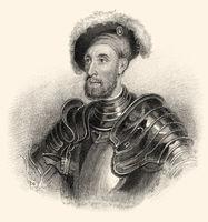 Sir Nicholas Carew or Carewe, c. 1496-1539, an English courtier and diplomat