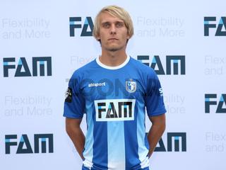tschechischer Fußballspieler Lukas Novy -3.Liga-Saison 2015/16 1.FC Magdeburg