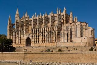 Kathedrale La Seu in Palme de Mallorca