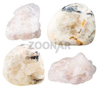 Baryte (barite) tumbled gemstones and rocks