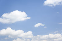 natural blue sky with some clouds background