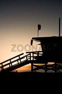 LA County Lifeguard Tower