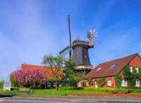 Esens Windmuehle - windmill Esens 01
