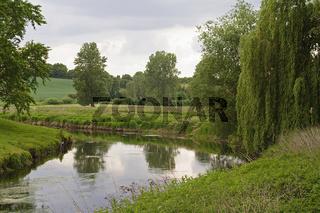 verzauberte Landschaft-Trave-I-Holstein