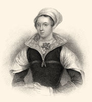 Lady Jane Grey, 1536 - 1554, briefly Queen of England,