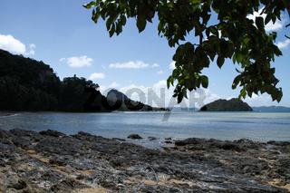 Beaches of corong corong bay