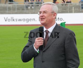 Martin Winterkorn, Vorstandschef VW Wolfsburg