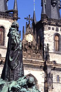 Jan Hus Denkmal- I-Prag