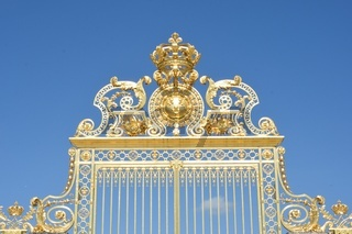 Golden gates of Palace