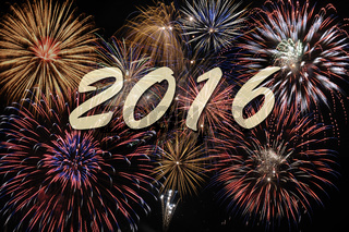 Feuerwerk und Neujahr 2016