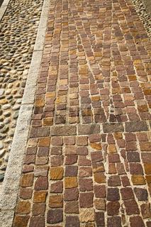 brick   varano borghi   street lombardy italy