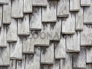 Alte Holzschindeln als Hintergrund