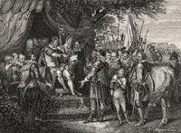 John, King of England, signing Magna Carta, 1215
