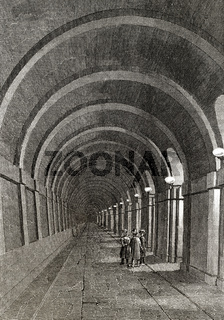 Thames Tunnel, London, 19th century