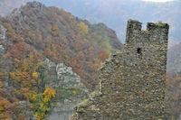 Burg Are in Altenahr, autumn impressions, Rhineland-Palatinate, Germany, Europe
