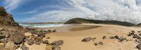 Panoramic view from Praia do Amado