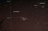 Astro Photo: Starfield with Andromeda Galaxy
